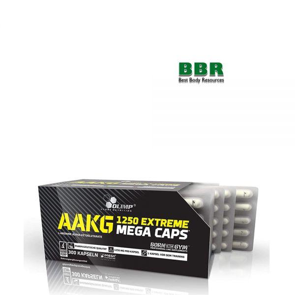 AAKG 1250mg Extreme Mega 300 Caps, Olimp