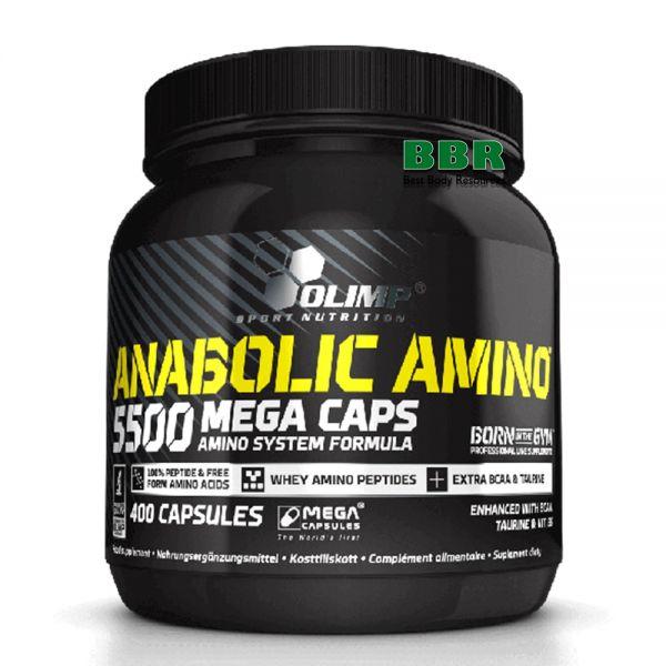 Anabolic Amino 5500 400caps, Olimp Nutrition