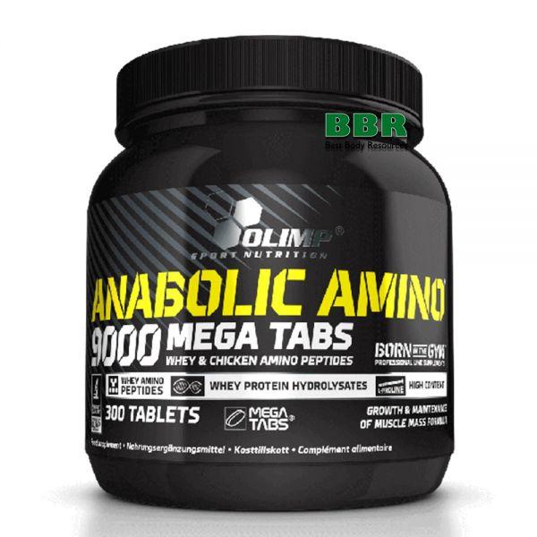 Anabolic Amino 9000 300tab, Olimp Nutrition