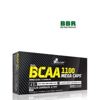 BCAA Mega Caps 1100mg 120 Caps, Olimp