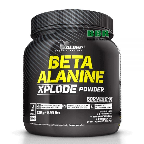 Beta-Alanine Xplode 420g, Olimp