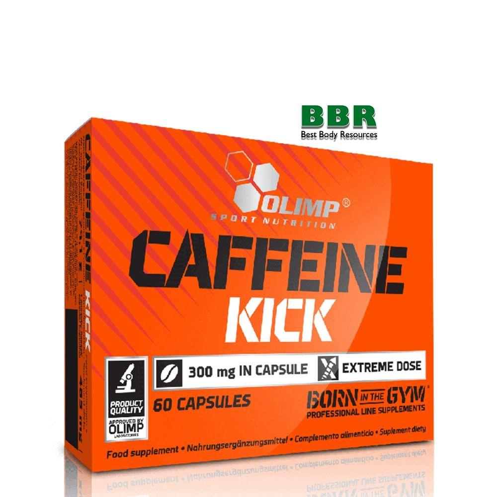 CAFFEINE KICK 60caps, Olimp Nutrition