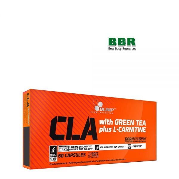 CLA with Green Tea plus L-Carnitin Sport Edition 60caps, Olimp Nutrition