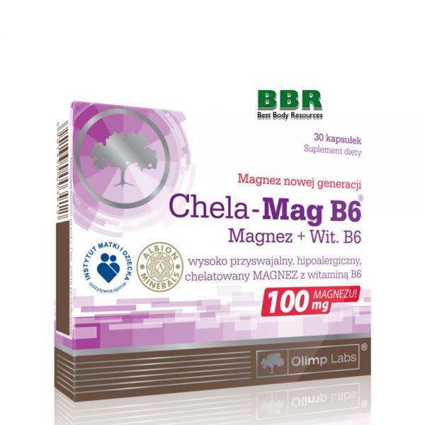 Chela-Mag B6 30 Caps, Olimp