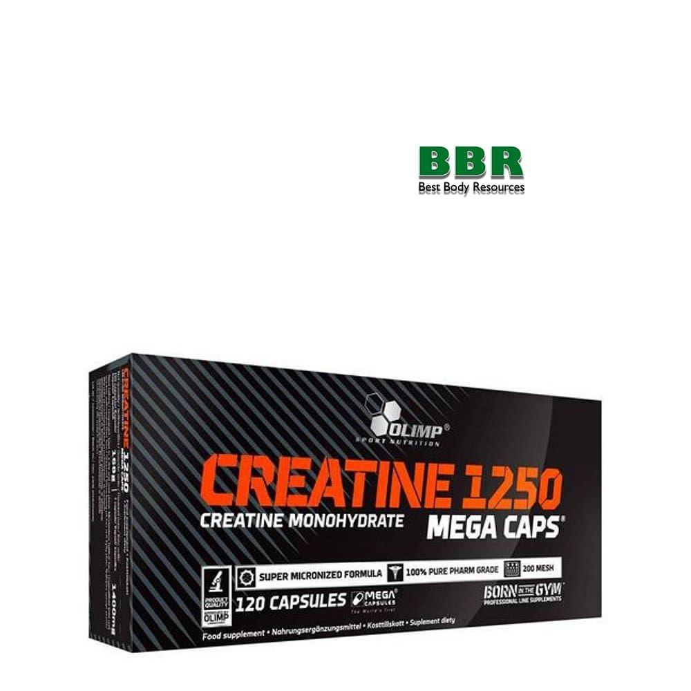 Creatine Mega Caps 1250mg 120caps, Olimp Nutrition
