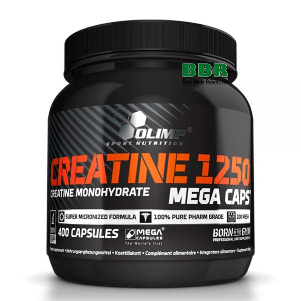 Creatine Mega Caps 1250mg 400caps, Olimp Nutrition