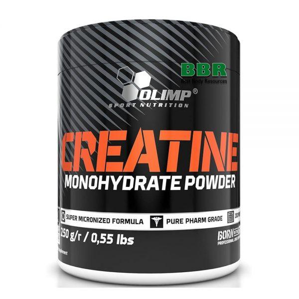 Creatine monohydrate powder 250g, Olimp