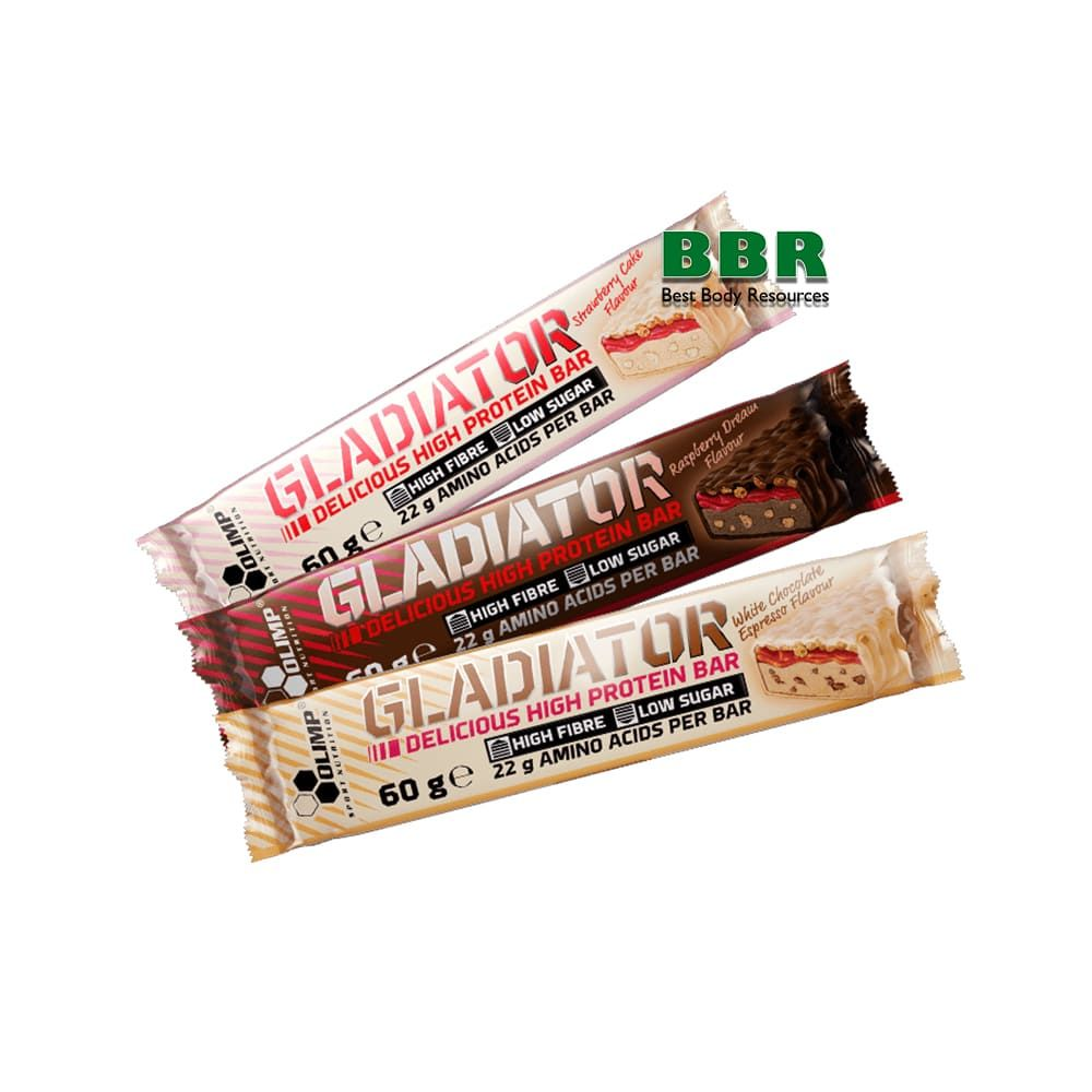 Gladiator Bar 60g, Olimp