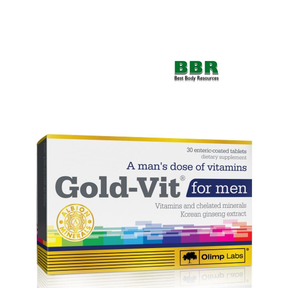 Gold-Vit For Men 30 Tabs, Olimp