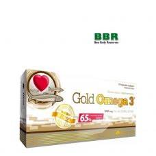 Gold Omega 3 65% 60 Softgels, Olimp