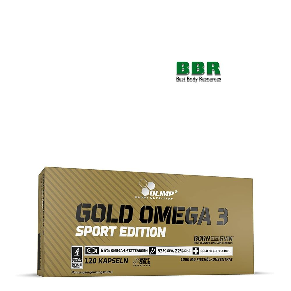 Gold Omega-3 SPORT 120caps, Olimp