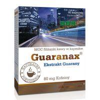 Guaranax 80mg of Caffeine 60 Caps, Olimp