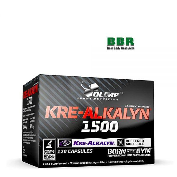 Kre-Alkalyn 1500mg 120caps, Olimp Nutrition
