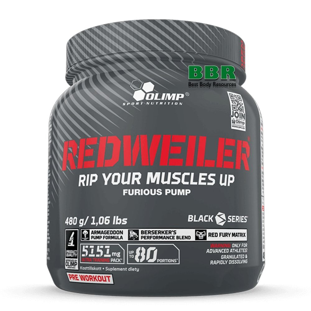 REDWEILER 480g, Olimp Nutrition
