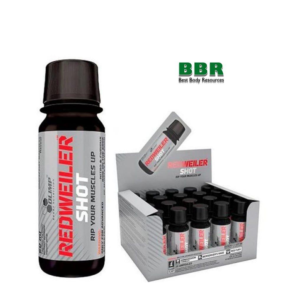 REDWEILER Shot 1x60ml, Olimp Nutrition