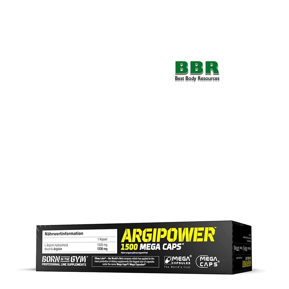 ARGIPOWER 1500mg 120caps, Olimp Nutrition