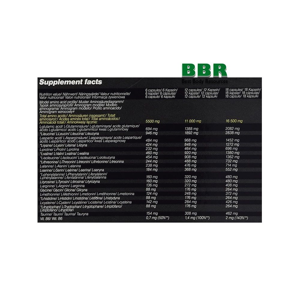 Anabolic Amino 5500 30x30caps, Olimp Nutrition