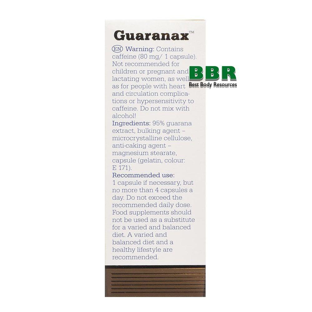 Guaranax (80mg of coffeine) 60caps, Olimp Labs