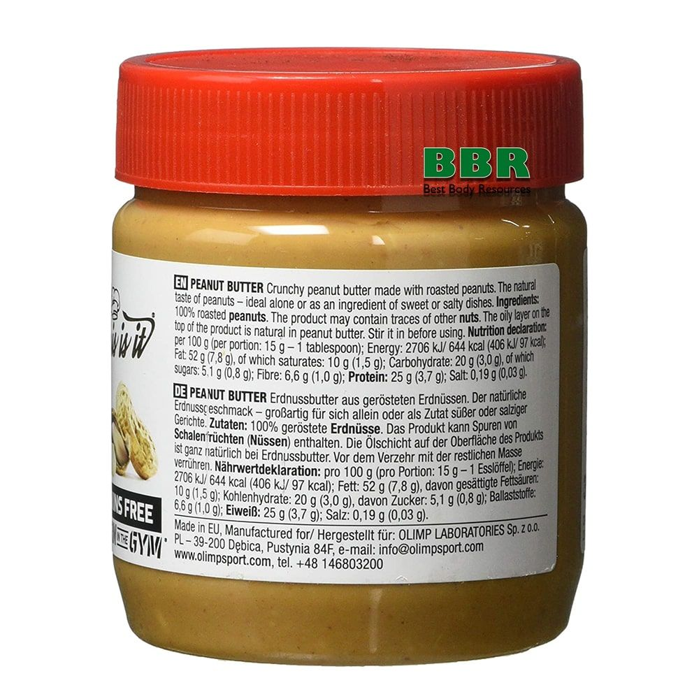 Peanut Butter 350g, Olimp