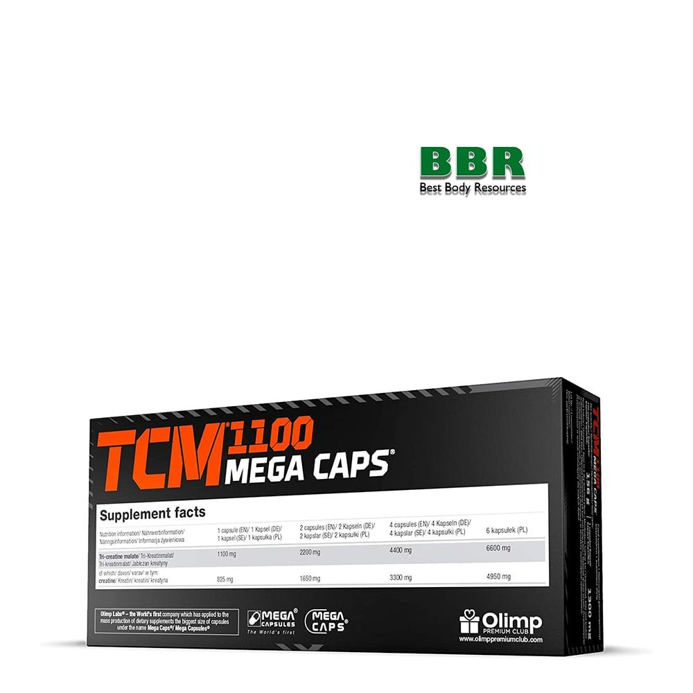 TCM Mega Caps 120caps, Olimp