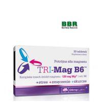 TRI-Mag B6 30 Сaps, Olimp