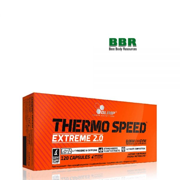 Thermo Speed Extreme 2.0 120caps,Olimp