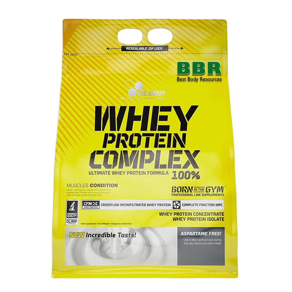 Whey Protein Complex 100% 2270g, Olimp