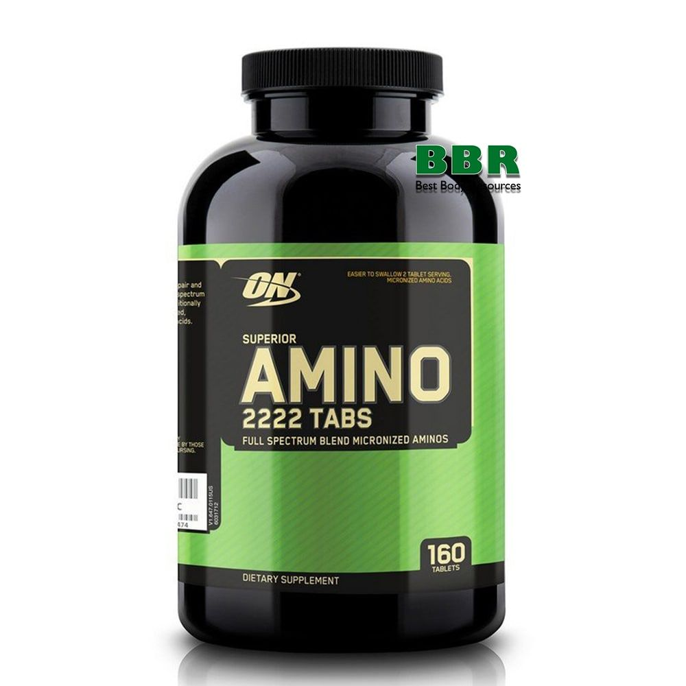 Superior Amino 2222 160 Tabs, Optimum Nutrition
