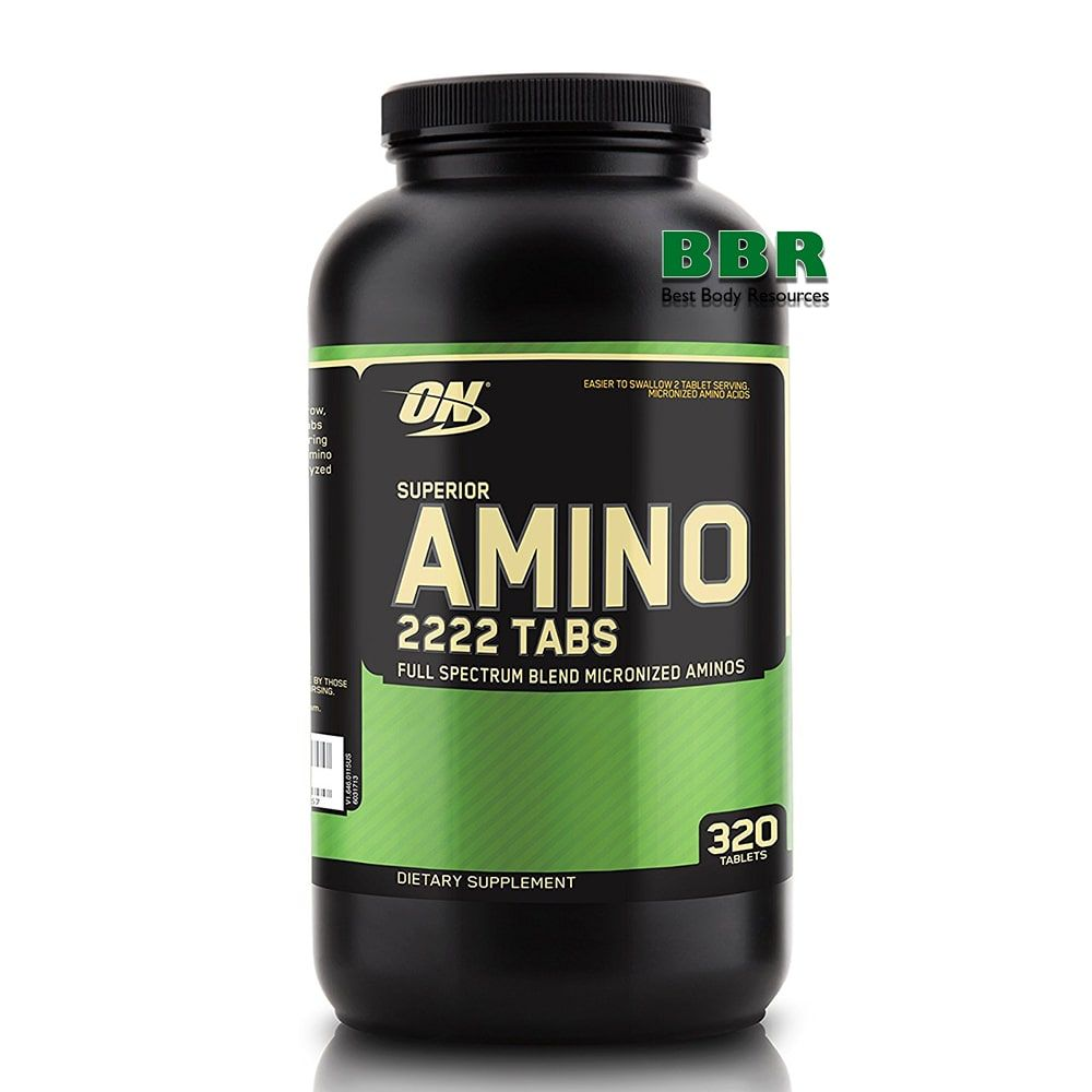 Superior Amino 2222 320 Tabs, Optimum Nutrition