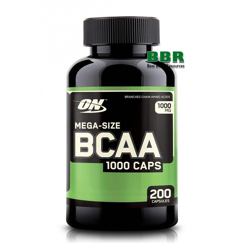 BCAA 1000 200 Caps, Optimum Nutrition