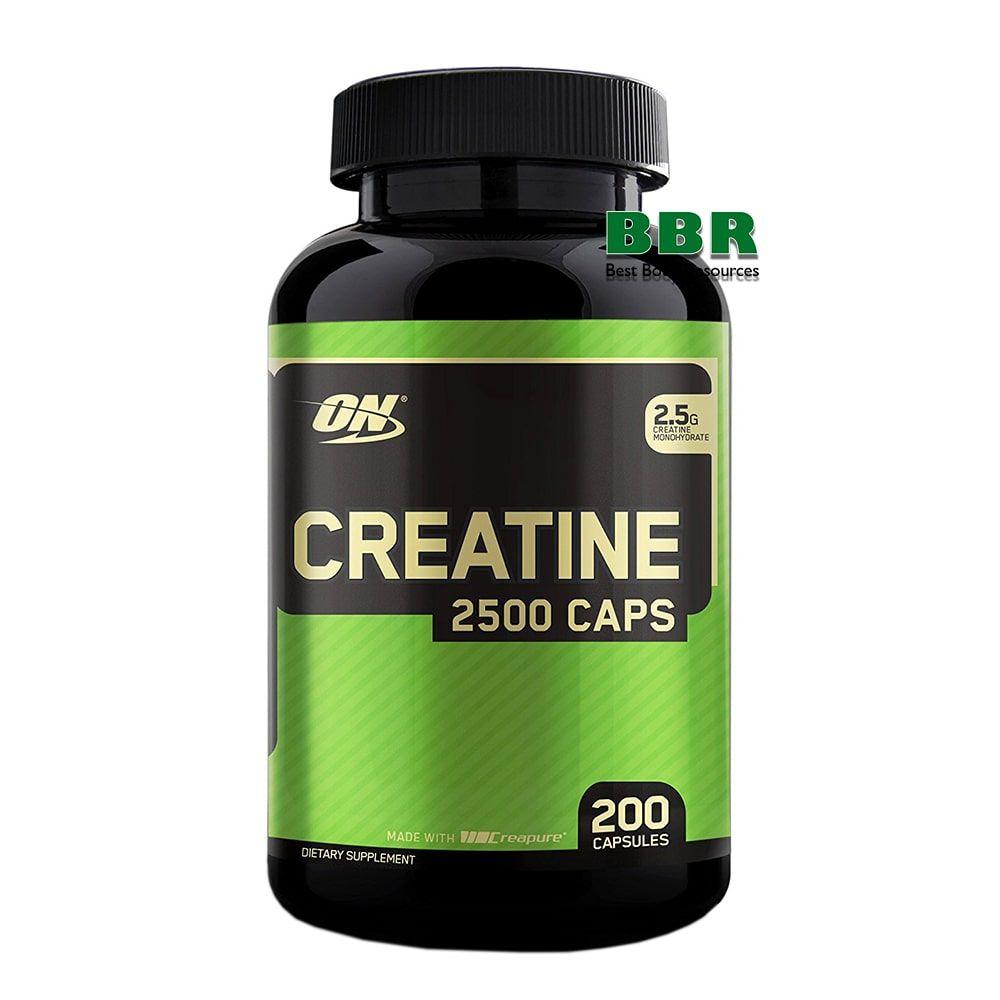 Creatine 2500 200 Caps, Optimum Nutrition