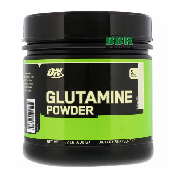 Glutamine powder 600g, Optimum Nutrition