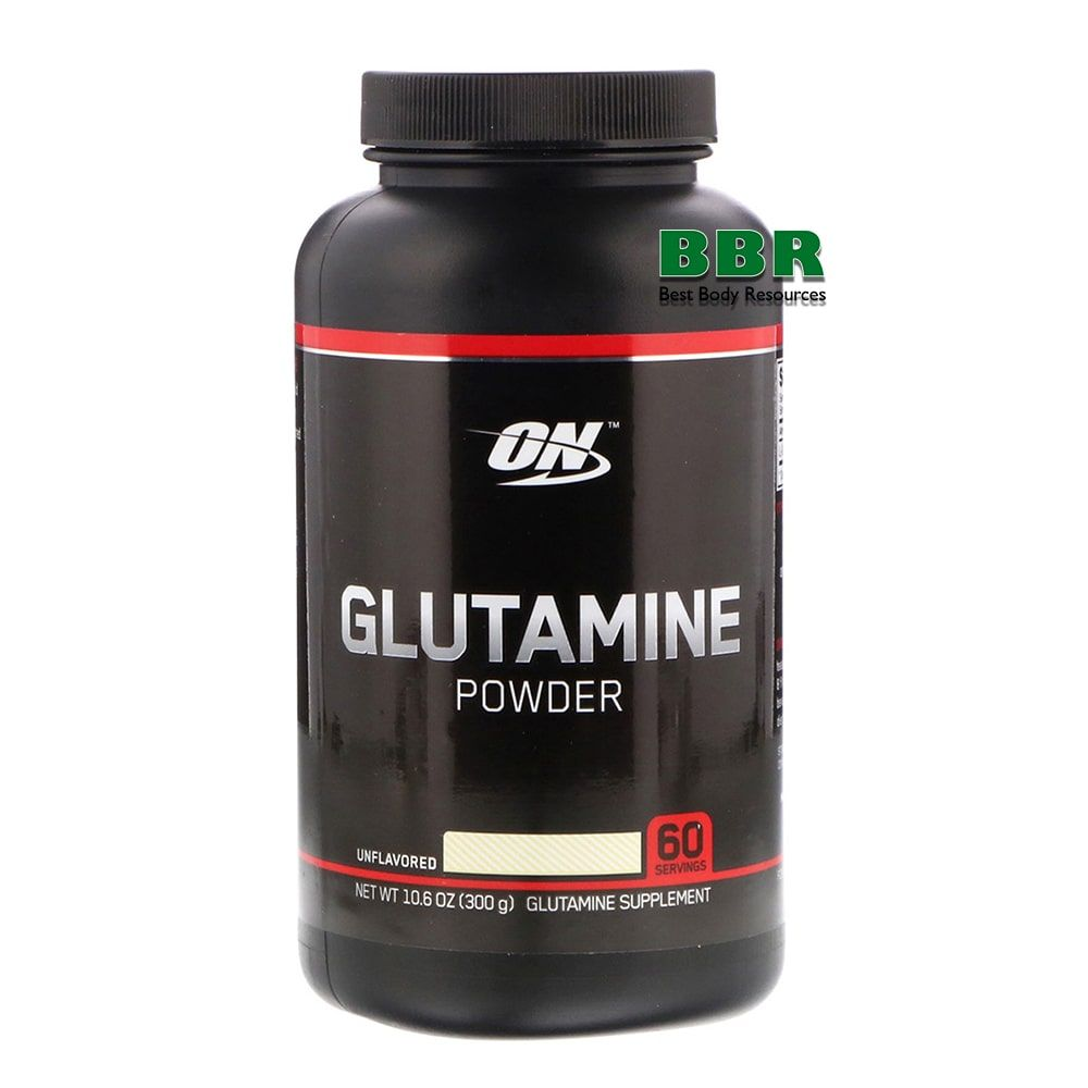 Glutamine Powder Black 300g, Optimum Nutrition