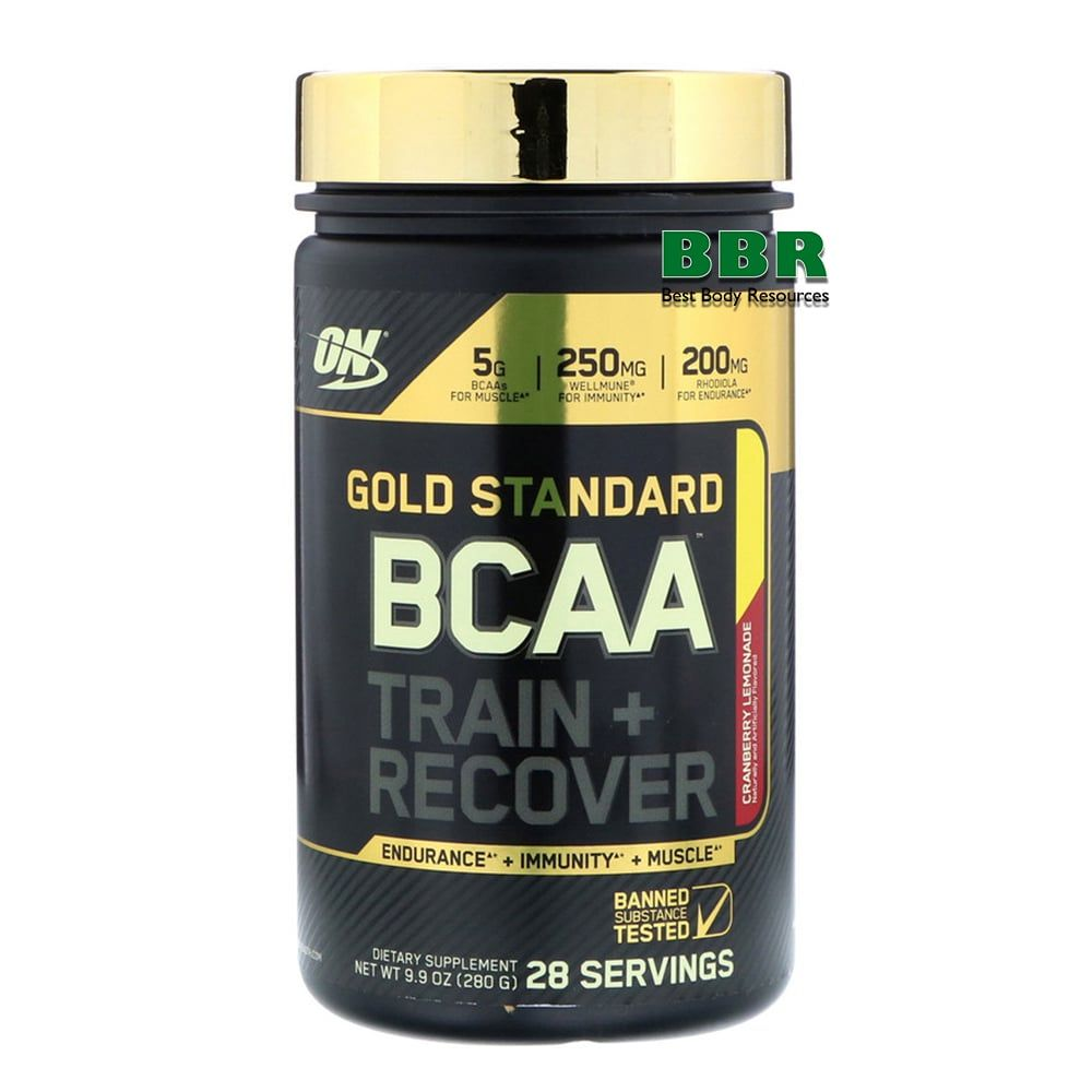 Gold Standard BCAA 28 Servings, Optimum Nutrition