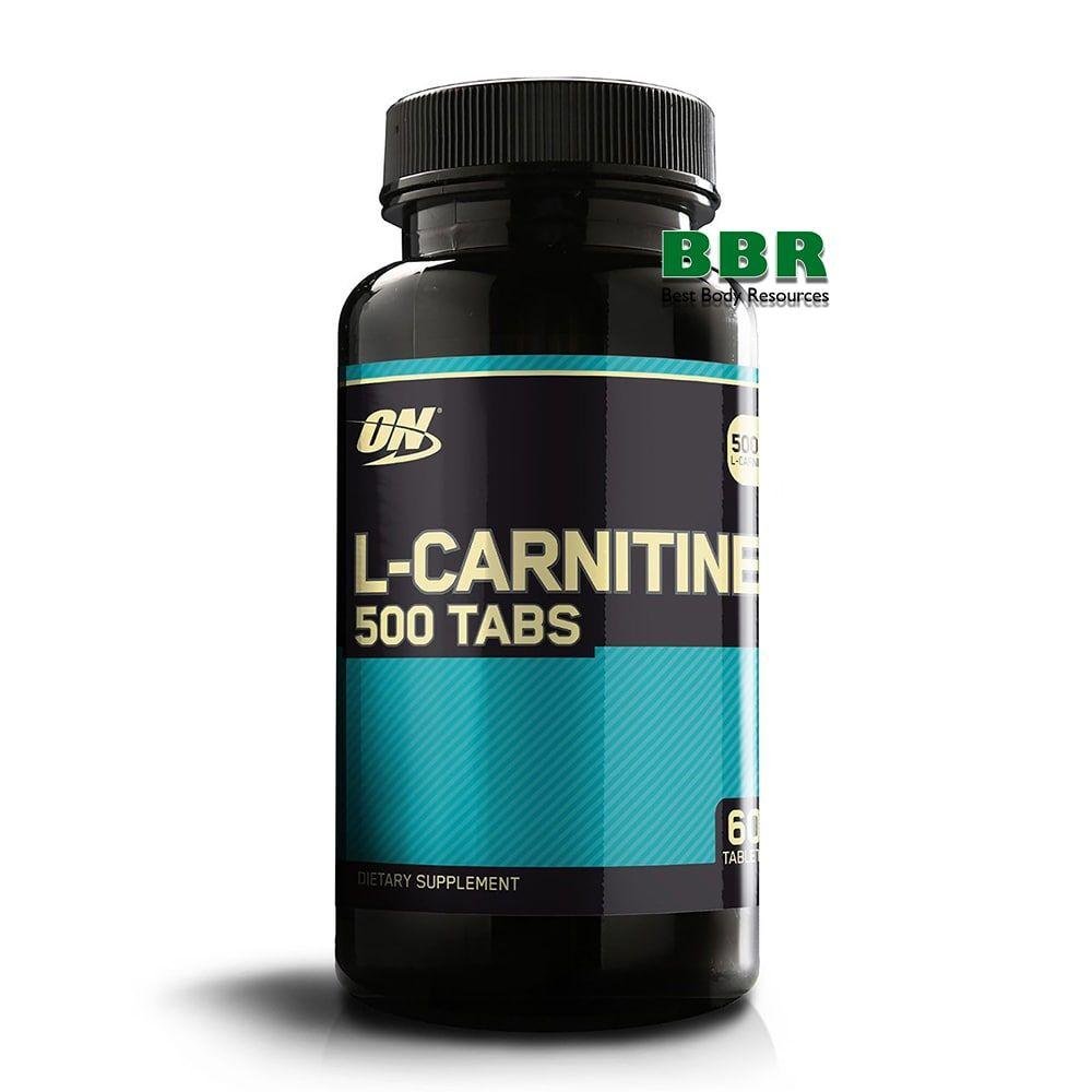 L-Carnitine 500 60 Tabs, Optimum Nutrition