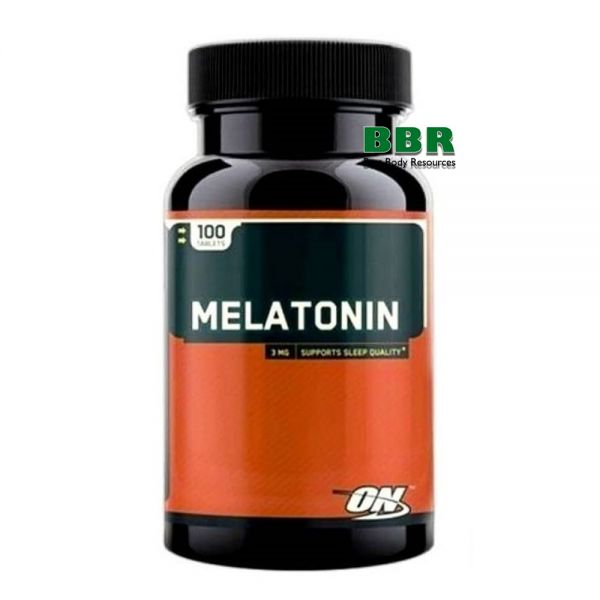 Melatonin 100 Tabs, Optimum Nutrition