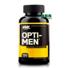 Opti Men 150 Tabs, Optimum Nutrition