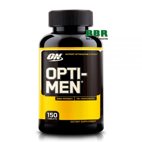 Opti-Men 150 Tab, Optimum Nutrition