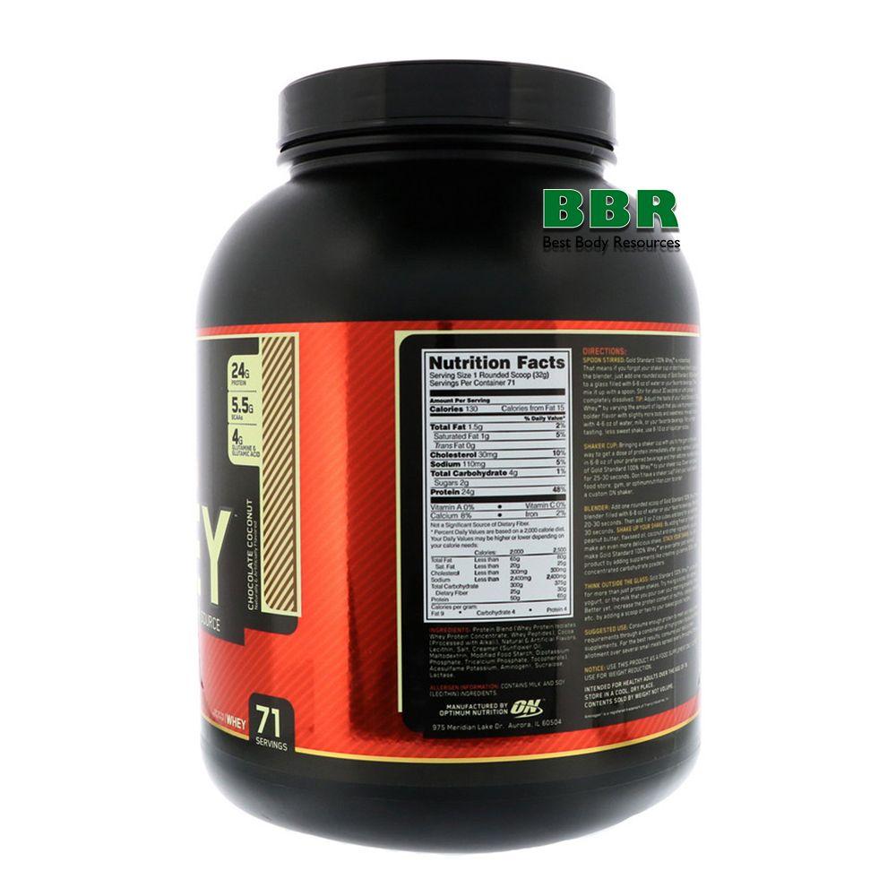 100% Whey Gold Standard 2270g, Optimum Nutrition