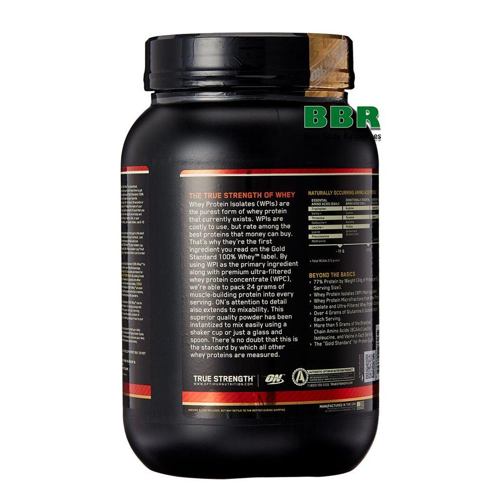 100% Whey Gold Standard 907g, Optimum Nutrition