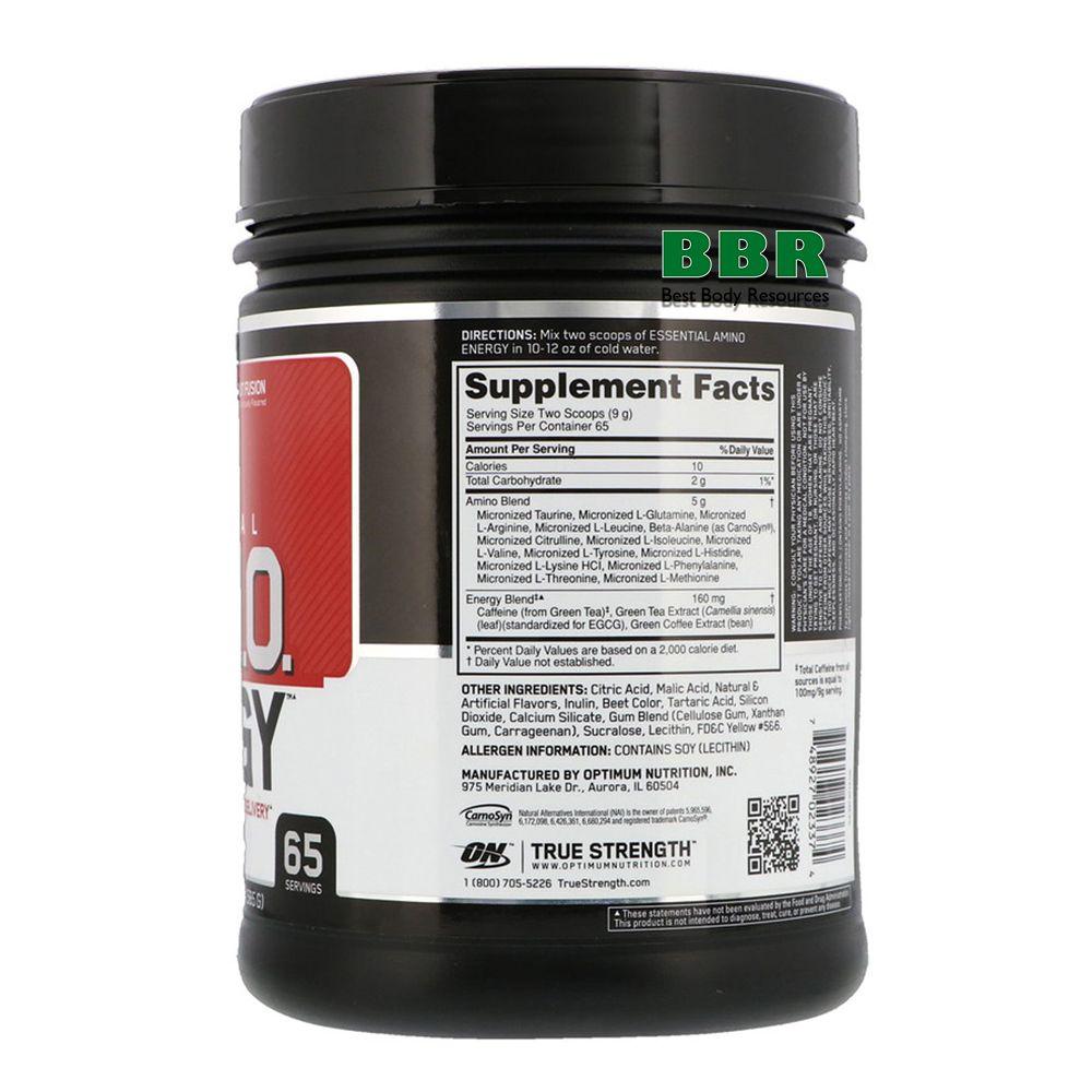 Essential Amino Energy 585g, Optimum Nutrition