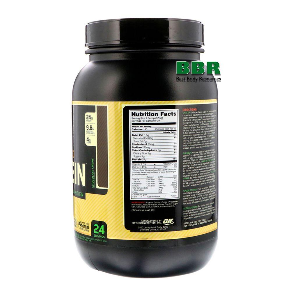 Naturally 100% Casein Protein 909g, Optimum Nutrition