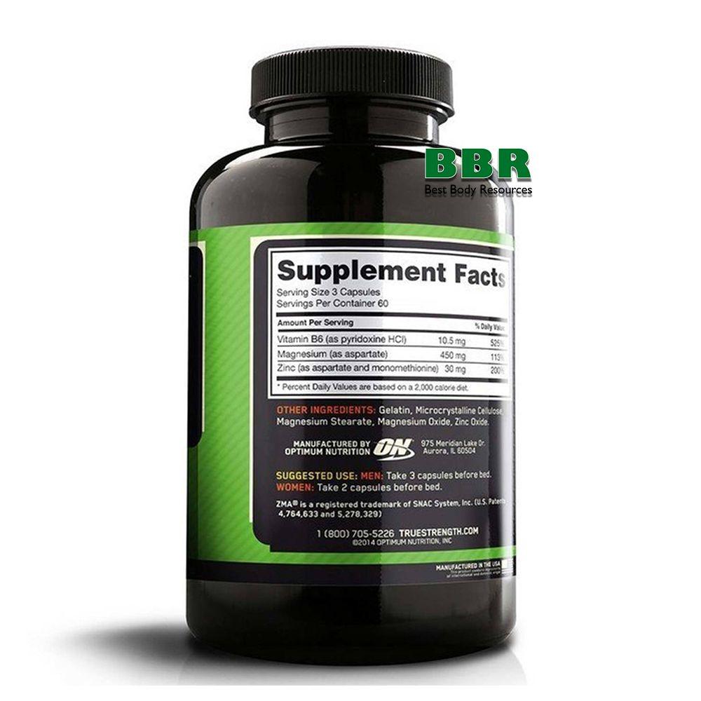 ZMA 90 Caps, Optimum Nutrition