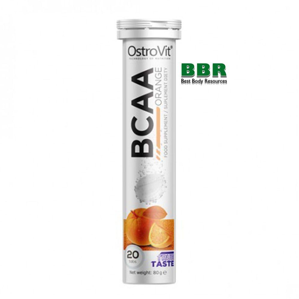 BCAA 20 tabs, OstroVit (шипучка)