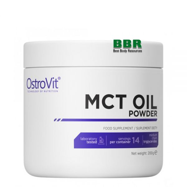 MCT OIL powder 200g, OstroVit