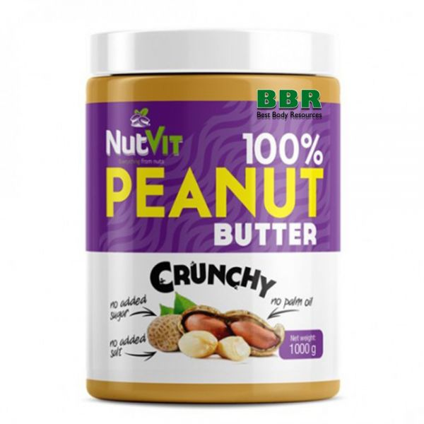 NutVit 100% Peanut Butter 1kg, OstroVit
