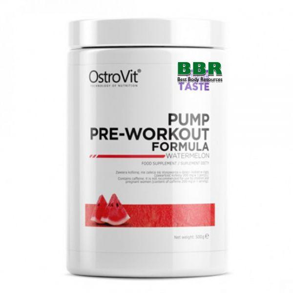 PUMP Pre-Workout Formula 500g, OstroVit