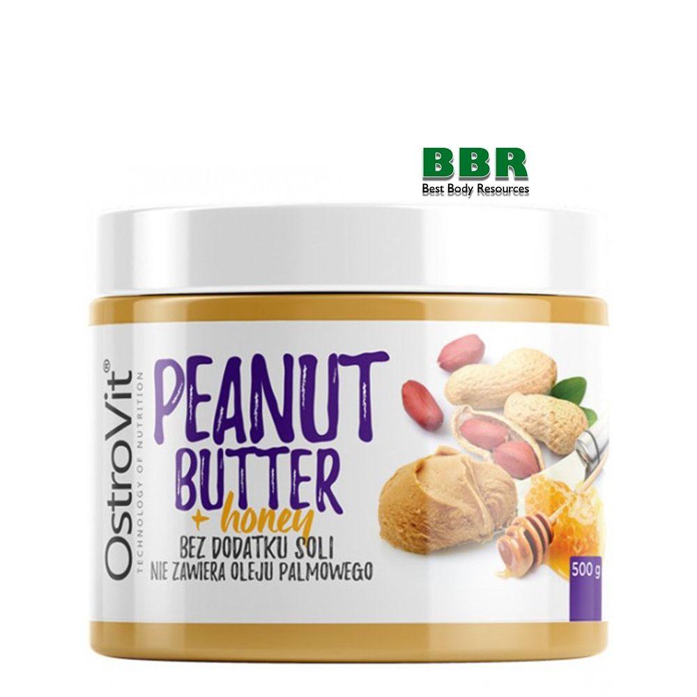 Peanut Butter+ honey 500g, OstroVit