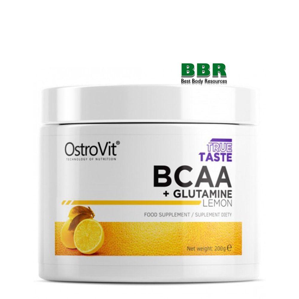 BCAA + GLUTAMINE 200g, OstroVit