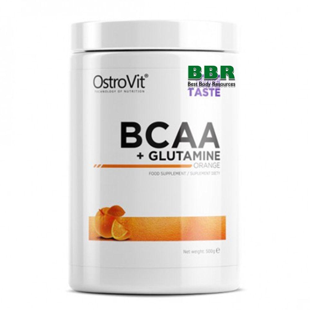 BCAA + GLUTAMINE 500g, OstroVit